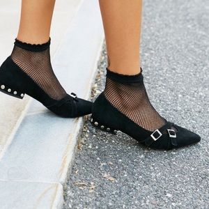 Jeffrey Campbell x Free People Studded Flats